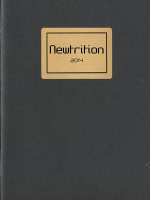 Newtrition | Artist Book | 2016
