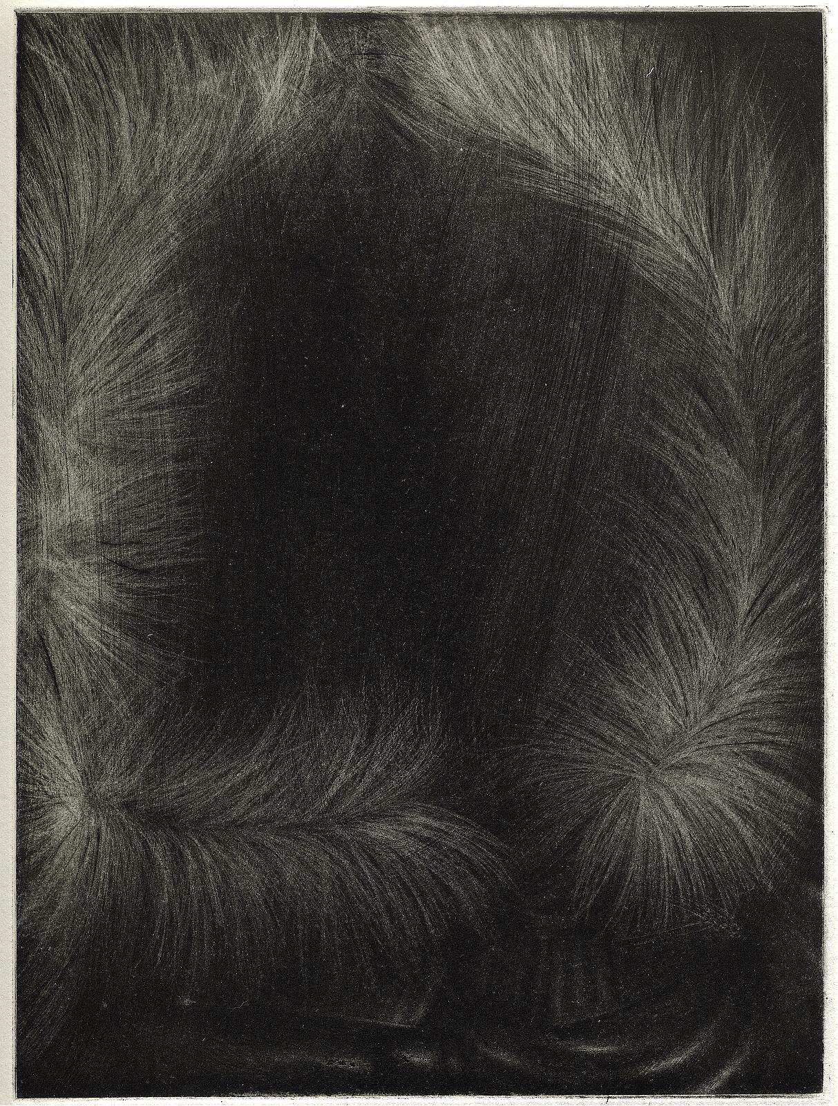 """""""Empty hood"""", 2007, Aquatint, appr. 22.4 x 16.8 cm"""